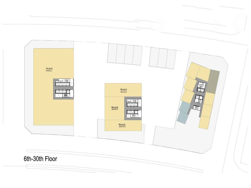Layout The Metropole Thu Thiem apartment