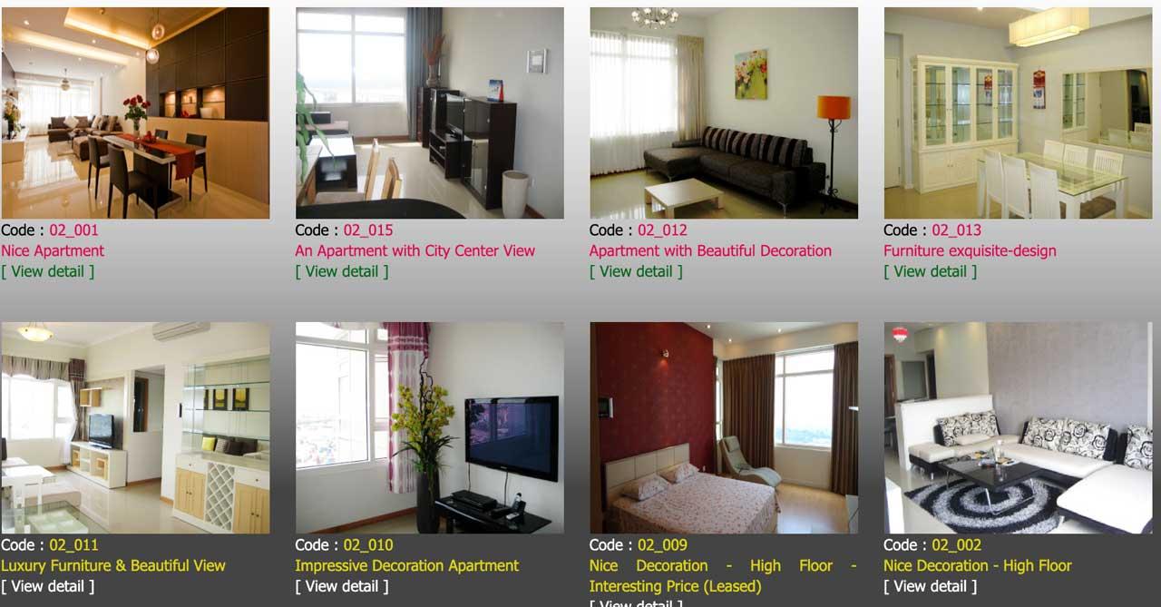 Saigon Pearl apartment for rent now