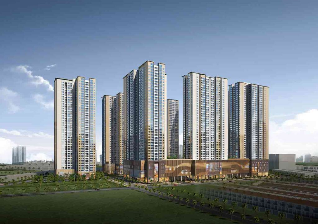 Layout of apartment for sale in Laimian City