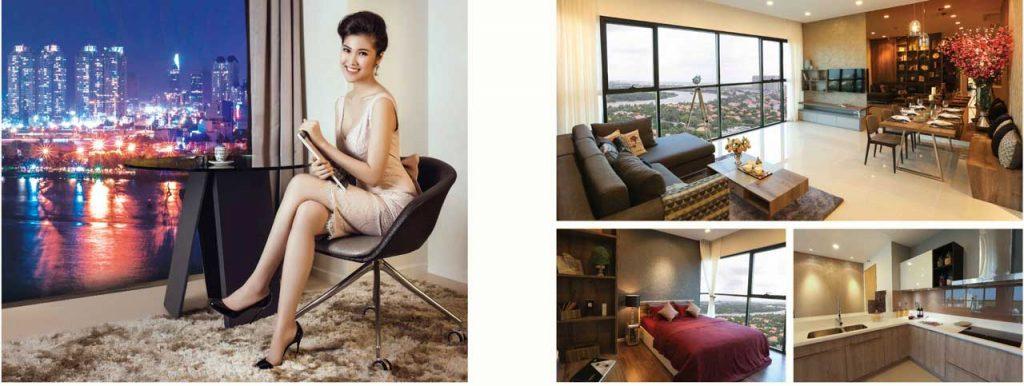 Interior Design of The Ascent Thao Dien Condominiums