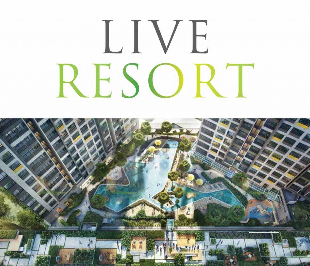Live resort at Masteri An Phu project