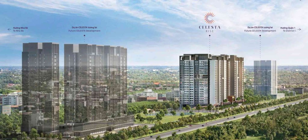 Celesta Rise Nha Be of Keppel land and Phu Long