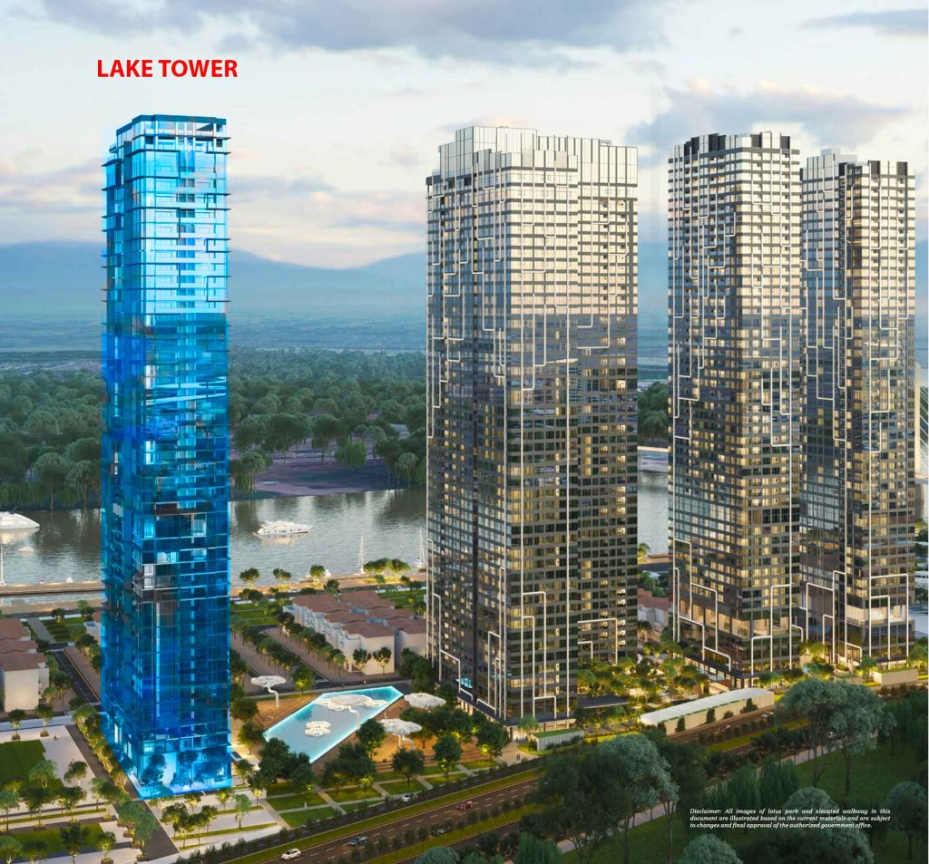 The Lake Tower first open apartment for sale